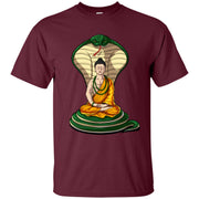 Buddha Cobra Snake Zen Yoga Meditation Hindu Men T-shirt