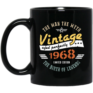 1968 Vintage Coffee Mug, Tea Mug