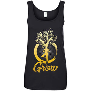 Grow with Yoga Women T-Shirt