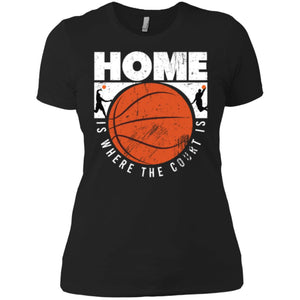 Basketball, Slamdunk, Dribbling Women T-Shirt