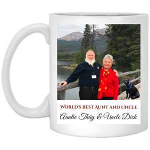 aunt Coffee Mug, Tea Mug