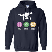 Funny Drone – Build Crash Repeat – Flying Quad Men T-shirt