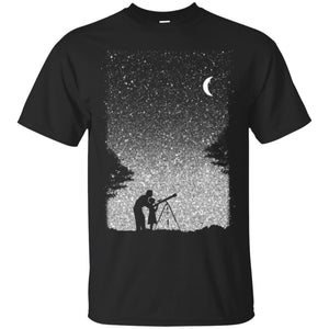 Astronomer Starry Sky Men T-shirt