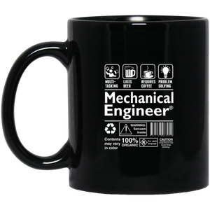 Mechanical Engineer Coffee Mug, Tea Mug