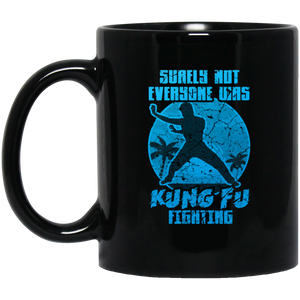 Kung Fu Fighting Asia Shaolin Retro Coffee Mug, Tea Mug
