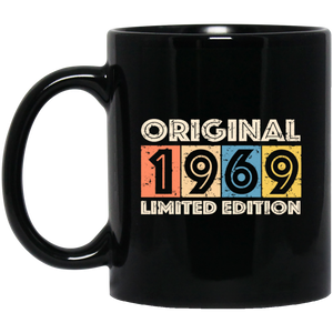 1969 Vintage RETRO Birthday Coffee Mug, Tea Mug