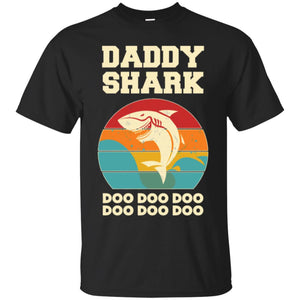 Daddy Shark Doo Doo Doo Vintage Men T-shirt