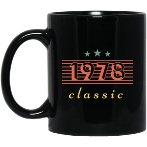 1978 Classic 40 th Birthday Coffee Mug, Tea Mug