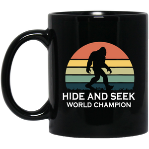 Hide and Seek World Champion Bigfoot Retro Soccer Coffee Mug, Tea Mug