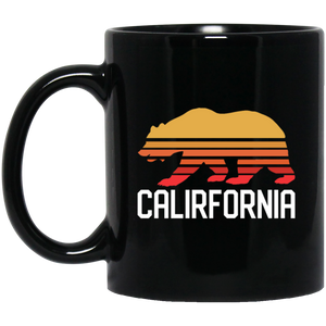 Retro California Bear Coffee Mug, Tea Mug