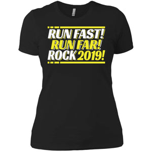 2019 Runner Running Quote, Best Race Time Women T-Shirt