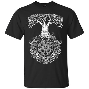 Yggdrasil Tree of Life Men T-shirt