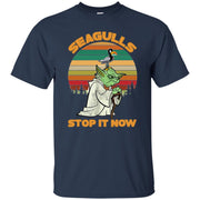 Funny Seagulls Stop It Now Vintage Men T-shirt