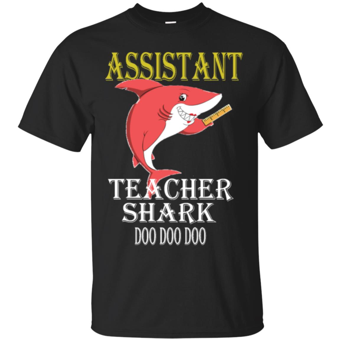 Assistant Teacher Shark Doo Doo Doo Men T-shirt