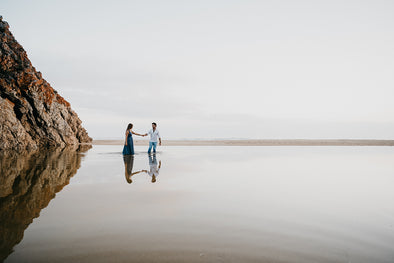 Ocean Inspired Engagement Shoot