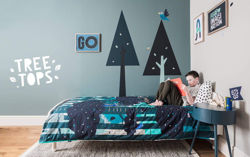 Childs bedroom interior - Treetops
