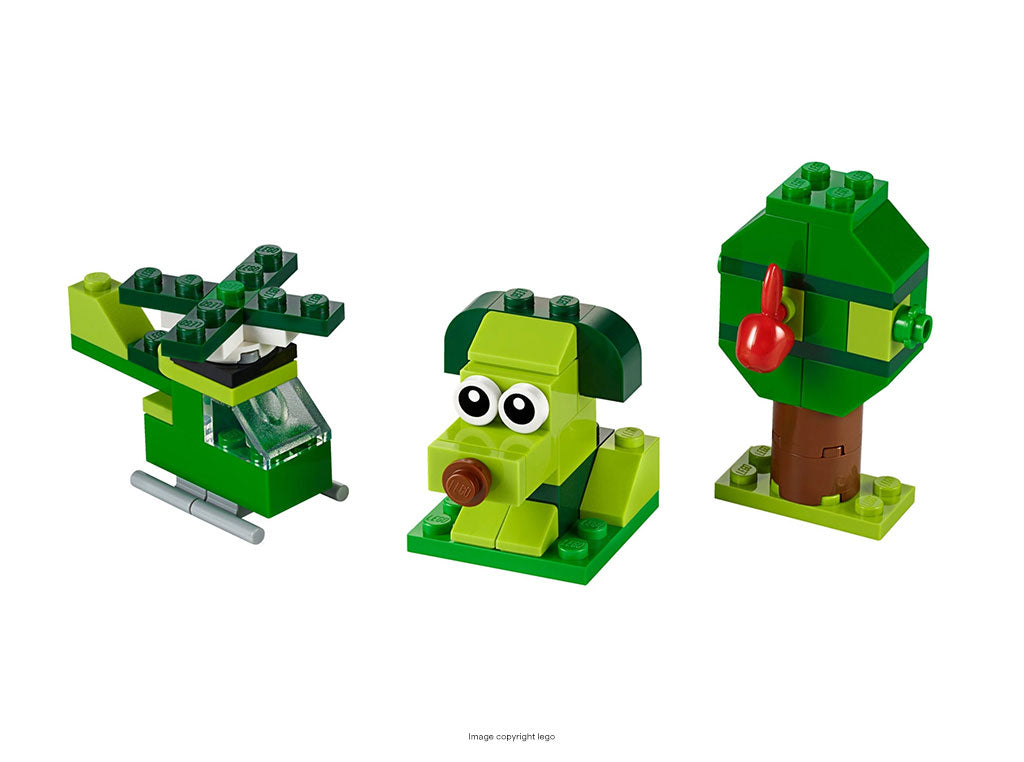 Creative Green Bricks Lego