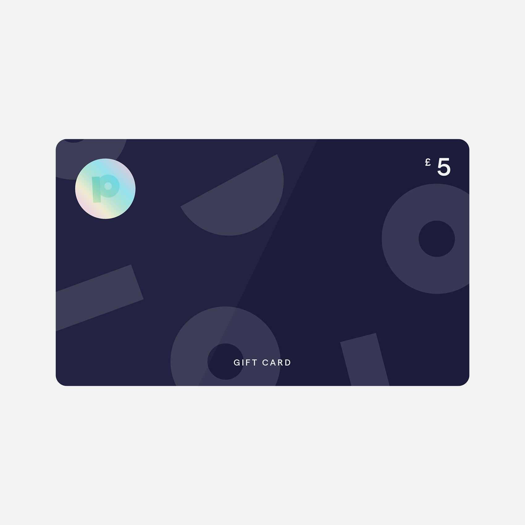 Gift card from Pea £5
