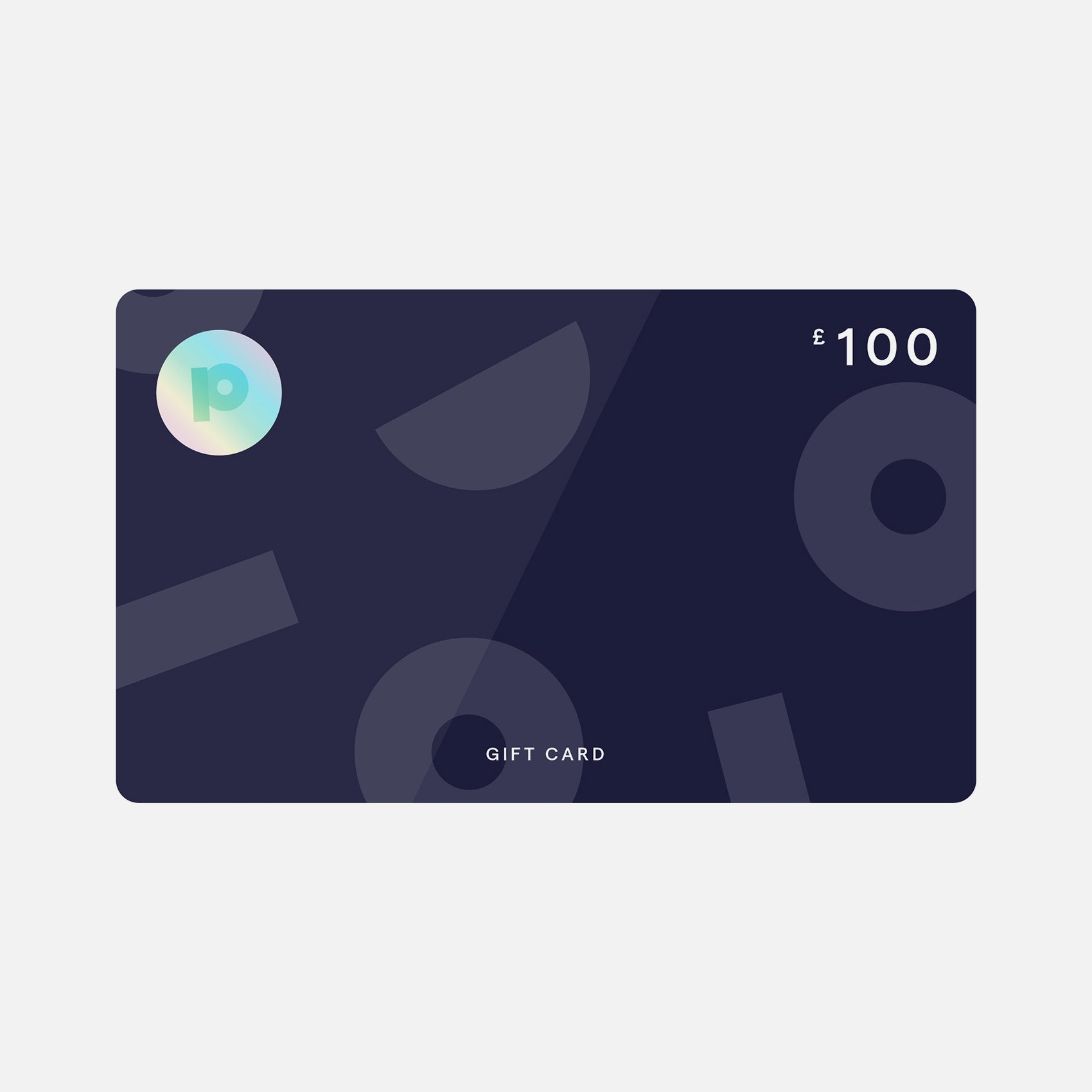 Gift card from Pea £100
