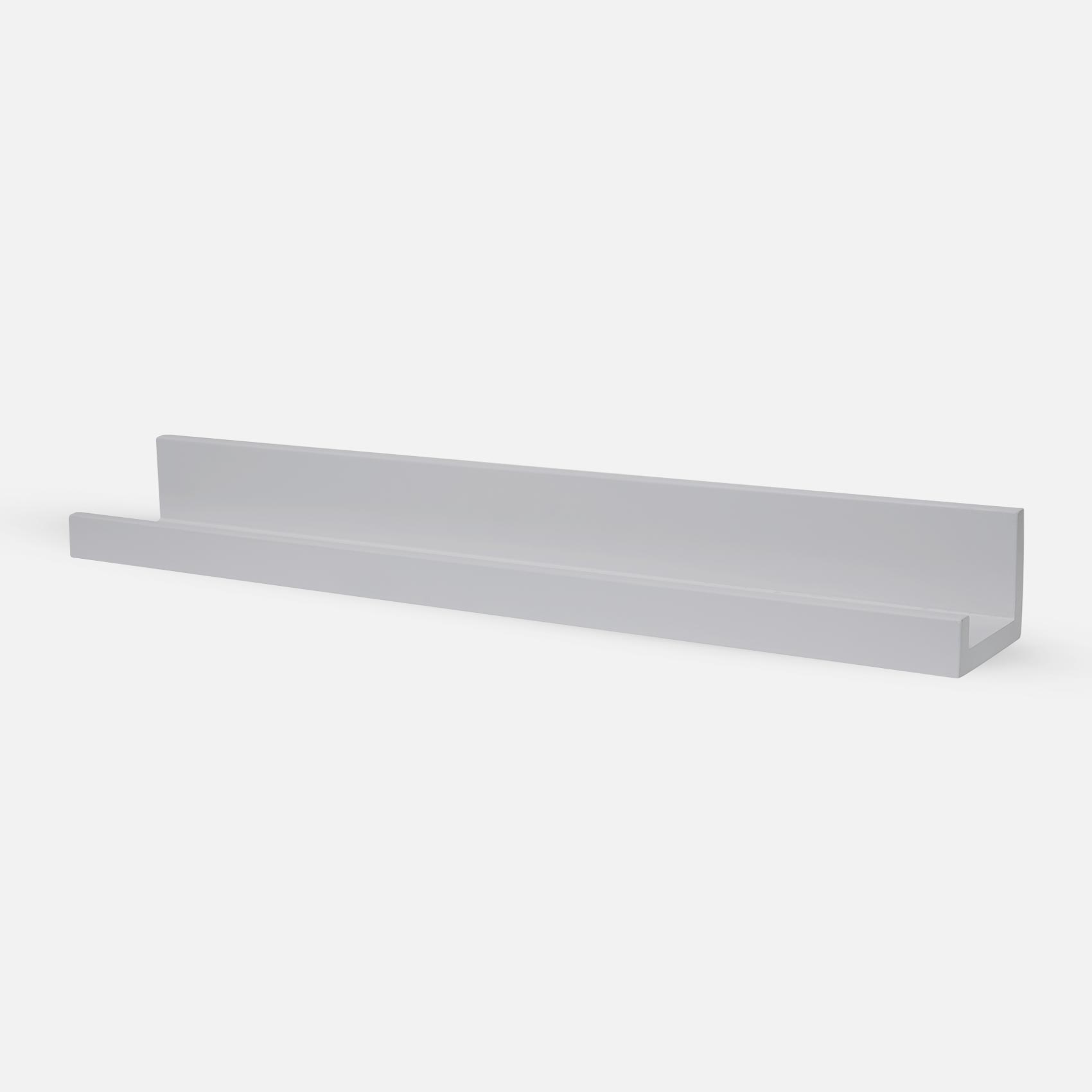 Picture shelf 60cm - Light Grey