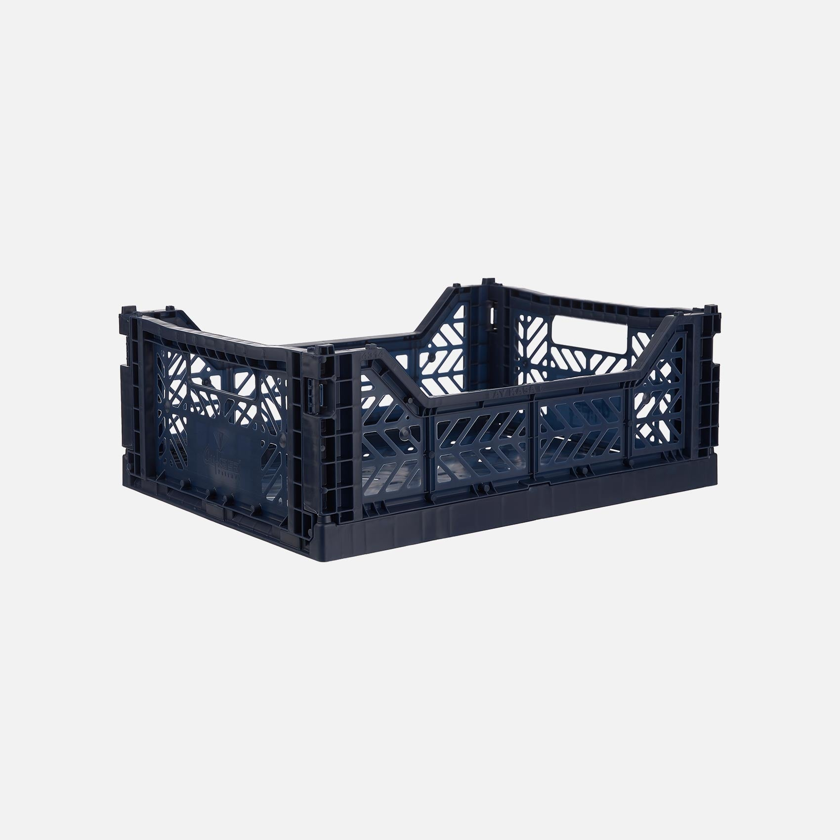 Midi storage crate - Navy Blue