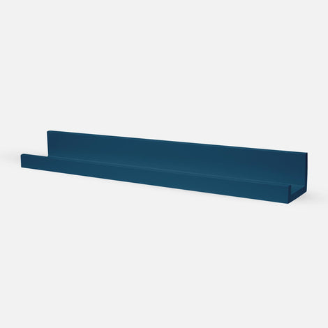 Picture shelf 60cm - Petrol Blue