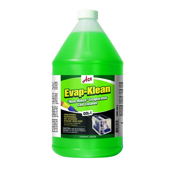 diy-appliance-hvac-parts,ACE - CCL1 - Evap-Klean No-Rinse Evaporator Coil Cleaner, 1 Gallon,Baker Distributing,Chemicals & Cleaners