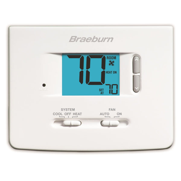 Braeburn 1020NC - Builder Value Non-Programmable Thermostat 1H / 1C