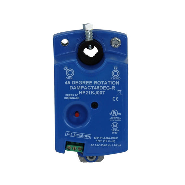 DAMPACT45DEG-R - 45° Actuator for round dampers