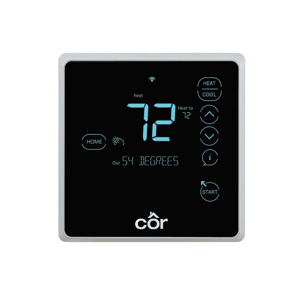 diy-appliance-hvac-parts,Côr 7 Thermostat, Programmable, Relative Humidity,Carrier,Thermostat