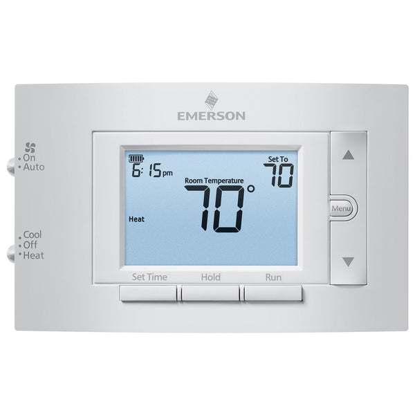 Emerson Climate 1F83C-11PR - 80 Series Single Stage, Programmable Digital Thermostat 1H/1C
