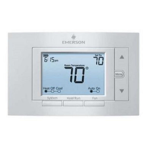 Emerson 1F85U-22PR - 80 Series Universal Programmable 7-Day Digital Thermostat 2H/2C
