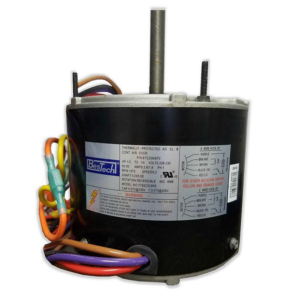 BesTech - BTC33MSP2 - 1/3HP PC01-0695 Variable Speed Motor