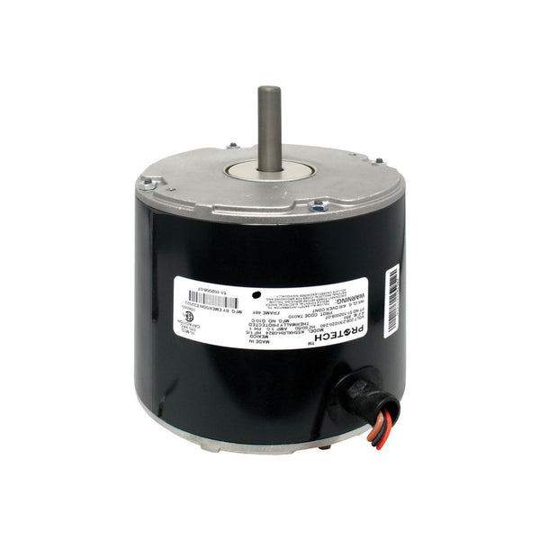diy-appliance-hvac-parts,PROTECH 51-102500-04 - Condenser Motor - 1/5 HP 208-230/1/50-60 (825 rpm/1 speed),Gemaire,condenser motor