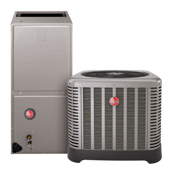 diy-appliance-hvac-parts,Rheem 2 Ton, 14 SEER, Classic Series, RA1424AJ/RH1P2417 Air Conditioner Split System,Gemaire,Rheem Air Conditioning System