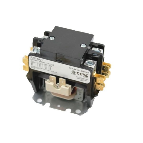 diy-appliance-hvac-parts,Totaline - P282-0421 Contactor Two Pole 40 Amp Lug TerminaLS Tube 24 VAC,Carrier,Contactor