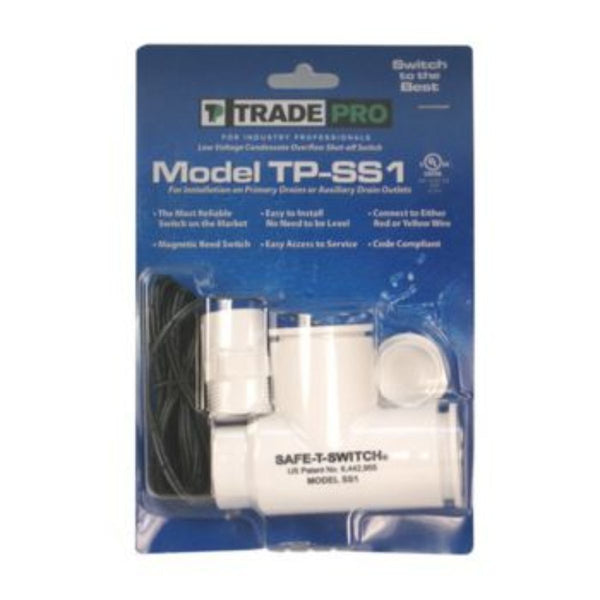 TRADEPRO® - 97633 - Safe-T-Switch SS1 Primary and Secondary Drain Outlet Condensate Shutoff Switch