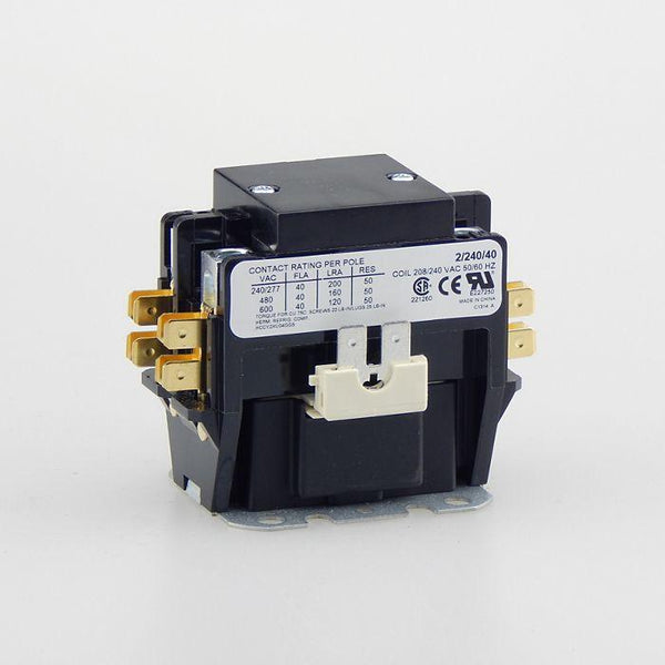 diy-appliance-hvac-parts,TRADEPRO® - TP-CON-2/240/40 - 2 Pole 240 Volt 40 Amp Contactor,Baker Distributing,Contactor