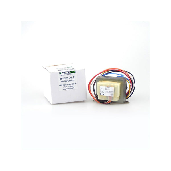 diy-appliance-hvac-parts,TRADEPRO TP-75VA-MULTI - Transformer, 120-208-240-480/24 VA & 75 VA With Wire Leads & Quick Connect,Gemaire,Trasformers