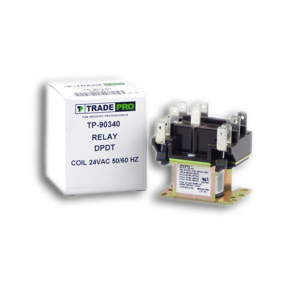 diy-appliance-hvac-parts,TRADEPRO® - TP-90340 24V Relay DPDT,Carrier,Relay