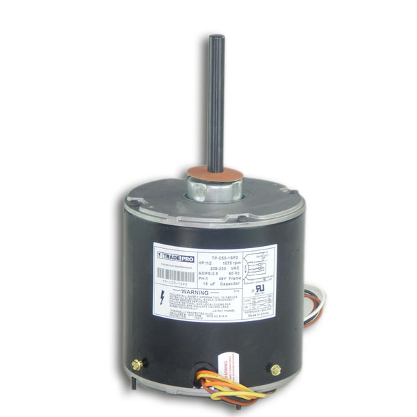 diy-appliance-hvac-parts,TRADEPRO® - TP-C50-1SP2 Condenser Fan Motor 1/2 HP 208/230V,Carrier,condenser motor