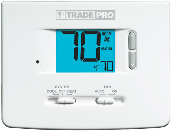 TRADEPRO® - TP-N-511 Non-Programmable Thermostat 1H/1C