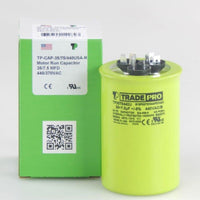 diy-appliance-hvac-parts,TRADEPRO - TP-CAP-35/7.5/440USA-R 35/7.5 MFD 440/370V Round Capacitor (Made in USA),Carrier,Capacitor