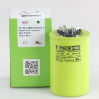 diy-appliance-hvac-parts,TRADEPRO - TP-CAP-45/7.5/440USA-R 45/7.5MFD 440/370V Round Capacitor (Made in USA),Carrier,Capacitor