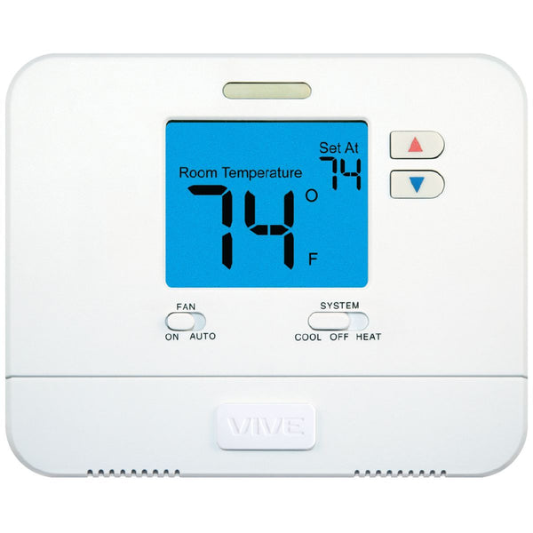 VIVE™ - TP-N-701 Non-Programmable Large Display Thermostat 1H/1C