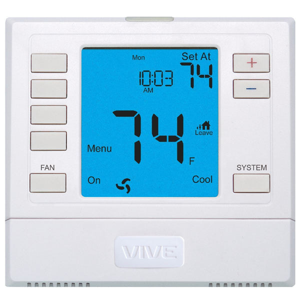 diy-appliance-hvac-parts,Non-Programmable Remote Sensor Capable Thermostat 3H/2C Universal - 6 sq. in. Display,Carrier,Thermostat