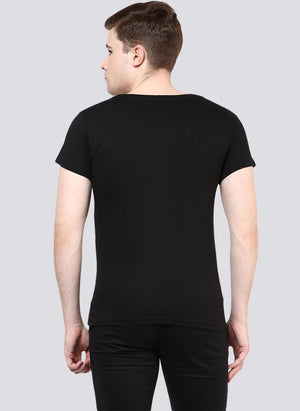 'SCORE' Printed Basic T-shirt