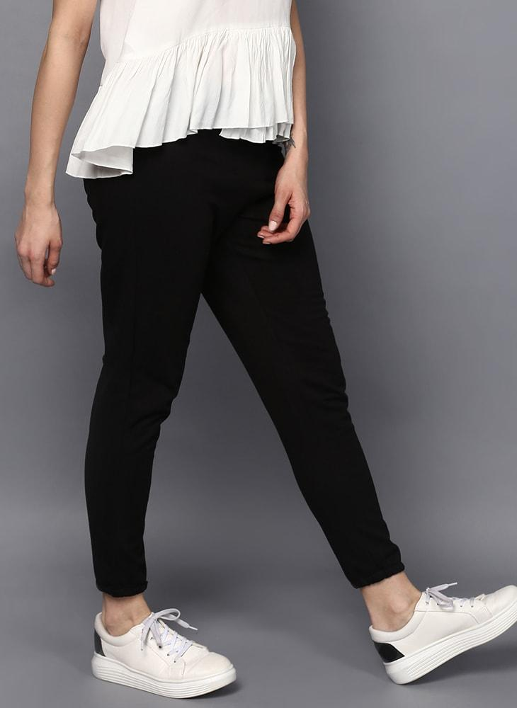 Straight Fit Ankle Length Joggers