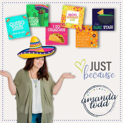 Fiesta Freebie - NACHO AVERAGE CELEBRATION