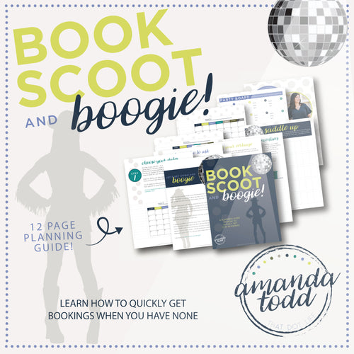 BOOK SCOOT AND BOOGIE